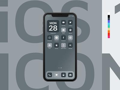 iOS 14 Icon Pack ux ui app interface ipad iphone icon set icon pack icon ios 14 ios