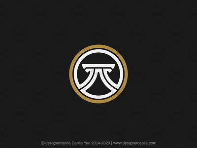 Stylized Pi Symbol Logo architecture logo logo for sale branding logo design coins construction logo finance logo lettermark brand identity letter mark logos letter t logo letter r logo pi symbol logo pi logo