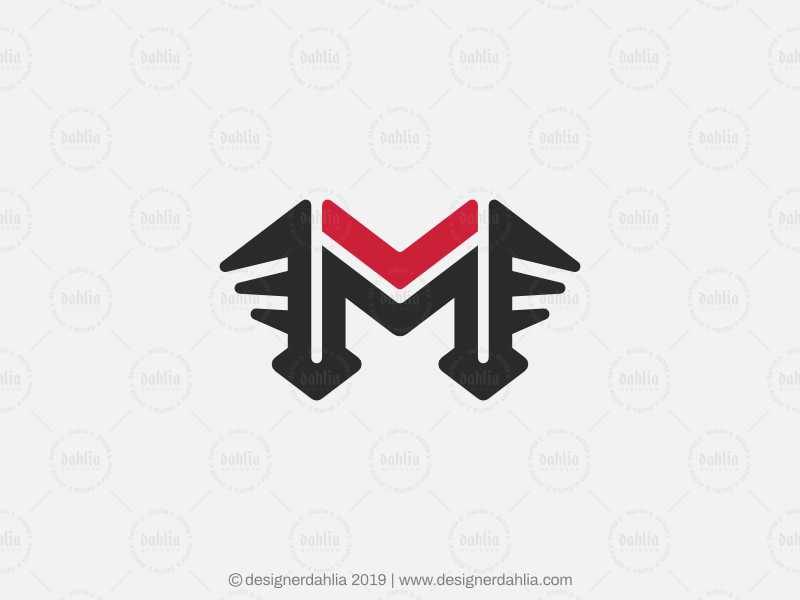Letter M Logo By D A H L I A On Dribbble