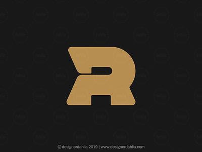 Bold Letter R Logo initials letter mark logos modern logos modern letter r bold letter r letter r logo logo for sale logo design brand identity branding letter logo lettermark monogram initials logo