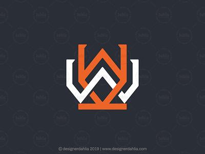 Double Letter W Logo letter w monogram letter logo letter ww logo architecture logo construction logo logo for sale letter mark logos brand identity branding lettermark initials logo design