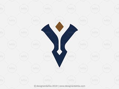 Elegant Letter Y Logo elegant letter y letter y logo logo for sale letter mark logos logoground letter logo brand identity branding lettermark monogram initials logo design