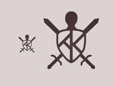 Armor AK shield armor warrior logo