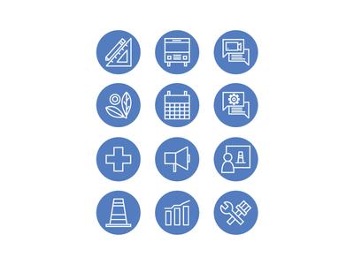 Icon Set - Facilities