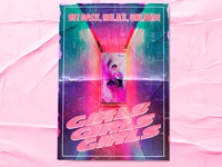Pink Kisses Poster