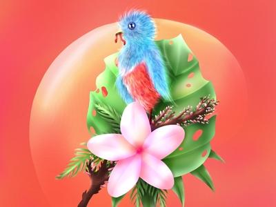 Birdie Says Hello