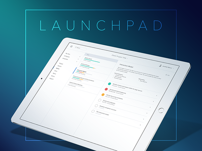 Launchpad launchpad get shit done checklist to-do tasks product project management design process