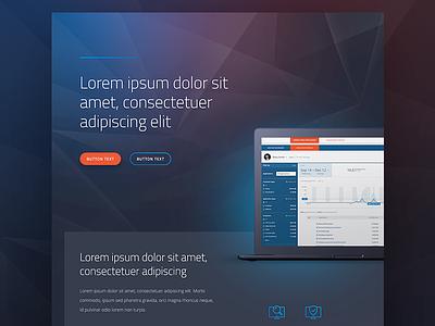 Cyber Security Style Tile open sans titillium web landing page website style tile
