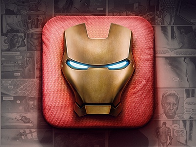 Iron Man metal man iron russia icons ios moscow illustration photoshop marvel ironman