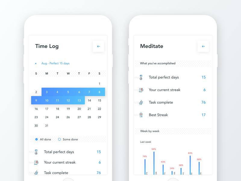 schedule planner app time log task time log details by sourav