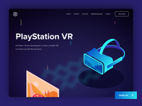 Playstation vr   landing page