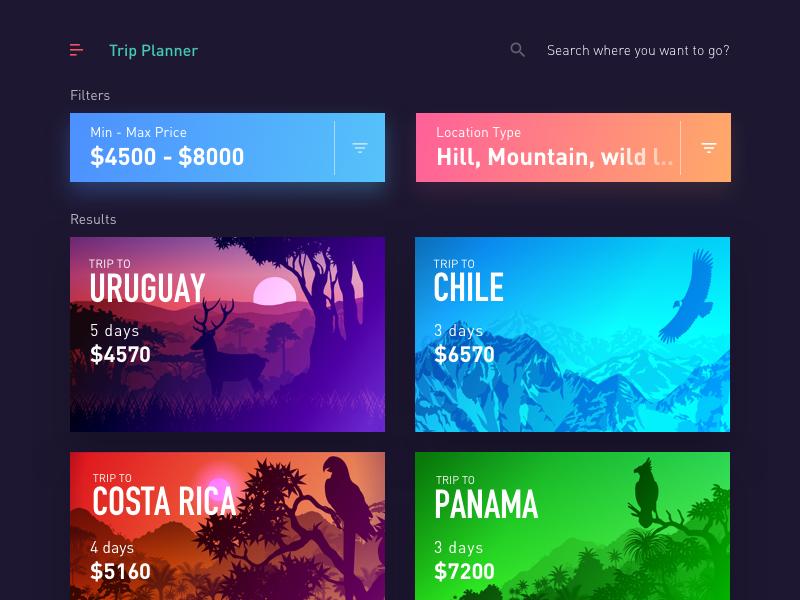 Trips App - Trip Planner v2