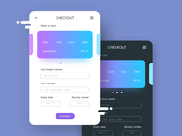 Checkout Card UI