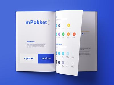 mPokket product branding web ux ui style mobile mark logo identity guide branding brand