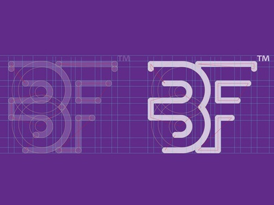 Brandform logotype illustration ux ui icon illustrator branding vector logo design
