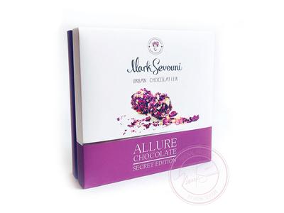 Mark Sevouni Urban Chocolatier brand box design packaging design vector design illustrator illustration