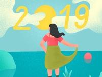 Walking Toward 2019