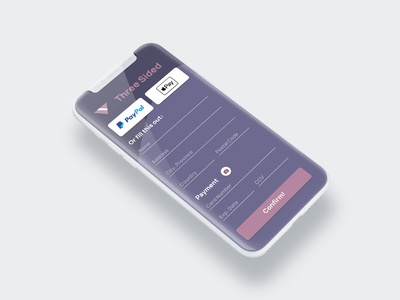 Daily UI Challenge: Checkout Screen (Day 2)