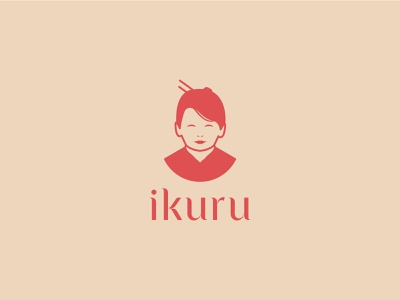 Japanese restaurant branding luxury potrait woman portrait woman logo face logo restaurant logo restaurant branding restaurant design minimal logo logo design illustrator icon illustration graphic design flat branding
