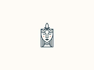 woman logo fashion luxury logo design luxury luxury logo face logo logo minimal flat illustrator logo design illustration graphic design design branding
