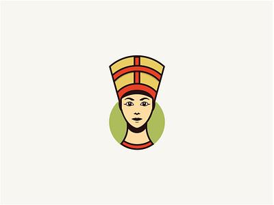 Egyptian woman logo concept logo branding beauty logo logo inspire logodesign logo design branding logo designer logo inspiration logo mark woman face logo woman logo face logo flat illustrator minimal illustration design logo design logo graphic design branding