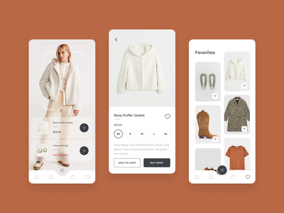 App for searching clothes by photo clothing cart ai clothes shopping app shopping app mobile ui mobile app design mobile app mobile design mobile design ux ui
