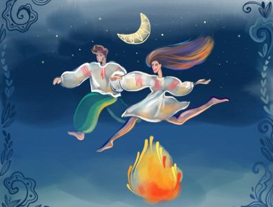 Bonfire Jump