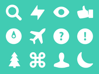 ICONY – awesome pixel-perfect vector icons set.