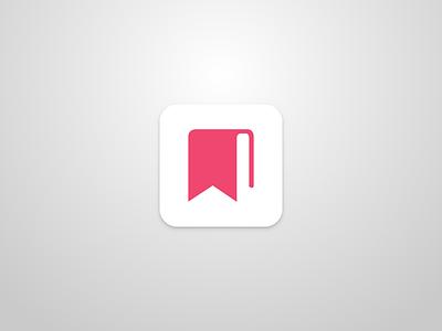 Booki Icon branding logo mobile ui dailyui read book icon