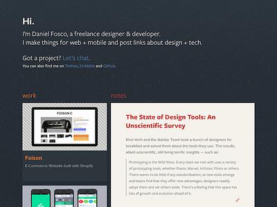 Heads Up ui web design