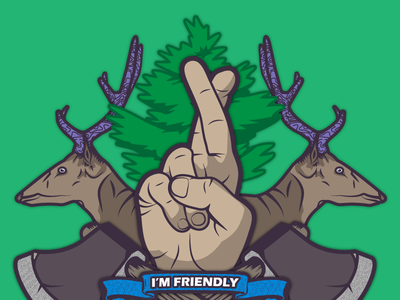 Rust - I Promise I'm Friendly trees hands promised key hatched playrust rust