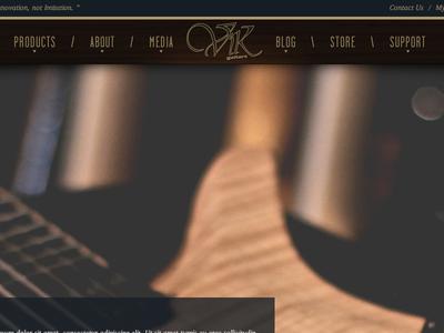 Header Comp header comp design guitar music clean texture wood