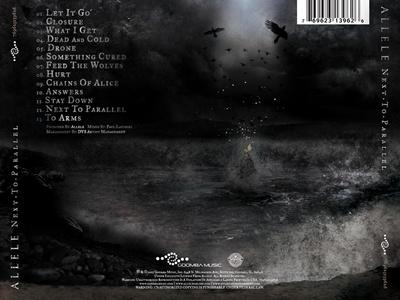 Outer Tray Album Art allele water cd album dark layout design
