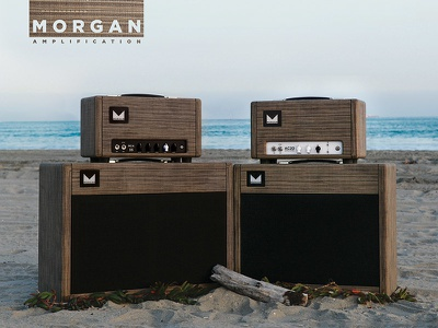 Morgan Driftwood Advertisment layout concept photography advertisment magazine print ad amplifiers morgan