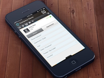 Mobile Application UI/UX profile mobile app application app interface clean user-interface ux design ui
