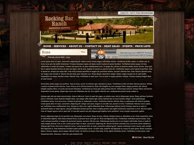 Yeehaw texture cowboy ranch wood interactive comp ux ui
