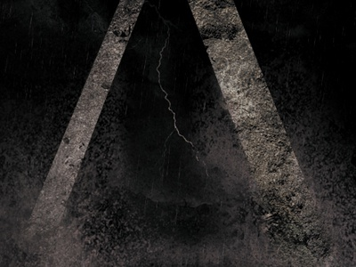 Album Cover Shot allele album art dark storm water lightning texture music ocean