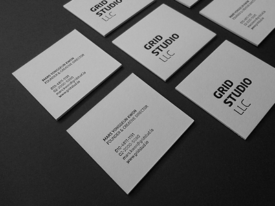 Business cards tomorrow des moines ia best business 2017 grid studio llc business cards by mars kwon dribbble the des moines colourmoves