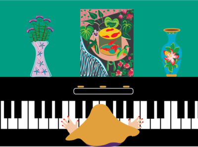 Piano and Matisse
