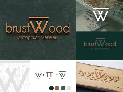 Logo Brust Wood furnutire