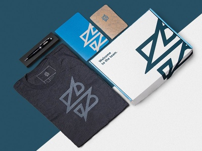 Welcome Kit new employee agency collateral minimal team branding welcome kit