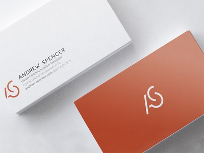 Personal Business Card stationery logo branding lettermark personal business card personal logo design brand