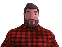 3D Lumberjack WIP