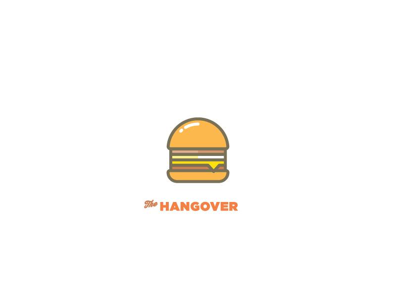The Hangover Burger yum beef potato bacon hash burger cheddar cheese egg bang bang burgers