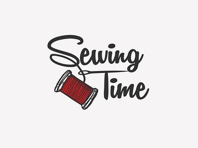 Sewing Time   Rebrand (Part 1) firstjob freelance branding rebrand typography serif logo