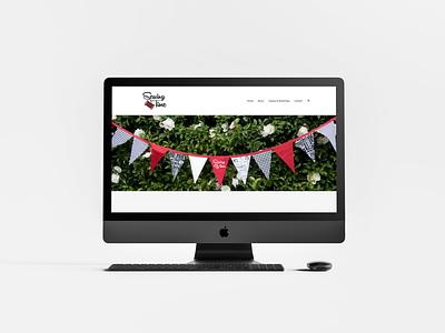 Sewing Time   Rebrand (Part 4) website design squarespace website grid layout typography serif first job rebrand logo freelance branding