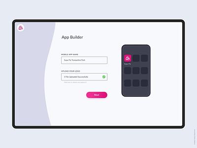Mobile App Builder ux design ui mobile app builder dashbord