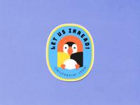 Inread sticker