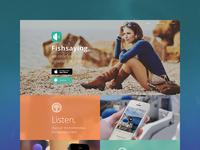 Website for app