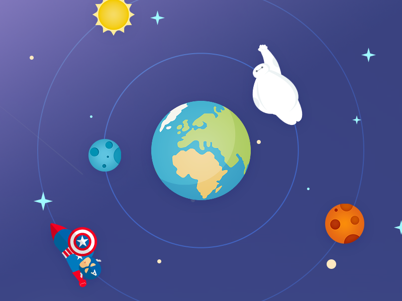 home of world map baymax interface sketch illustration earth map world web design ui